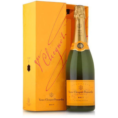 Veuve Clicquot Brut Champagne | De Wine Spot - Curated Whiskey, Small-Batch Wines and Sakes