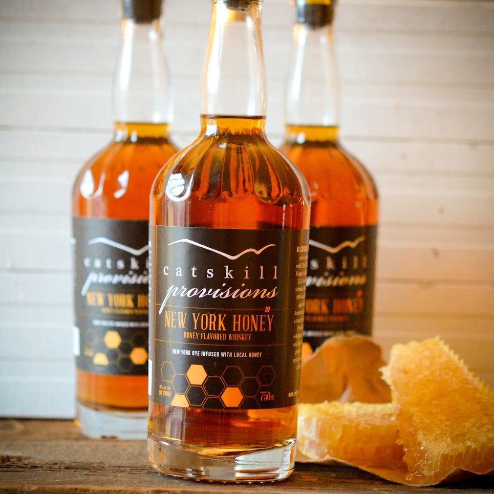 Catskill Provisions New York Honey Whiskey - De Wine Spot | Curated Whiskey, Small-Batch Wines and Sakes