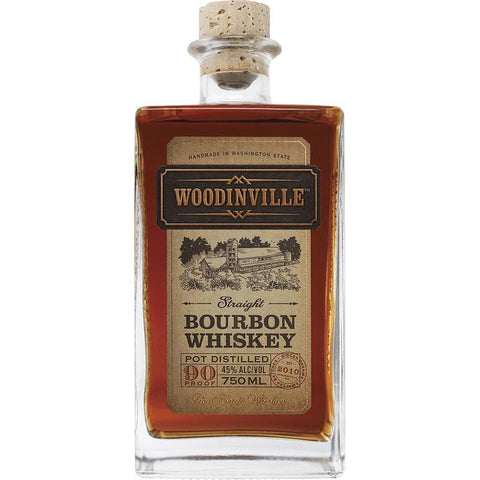 Woodinville Straight Bourbon Whiskey - De Wine Spot | Curated Whiskey, Small-Batch Wines and Sakes