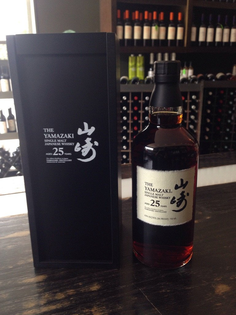 Suntory Yamazaki 25 Year Old Single Malt Japanese Whisky - De Wine Spot | Curated Whiskey, Small-Batch Wines and Sakes
