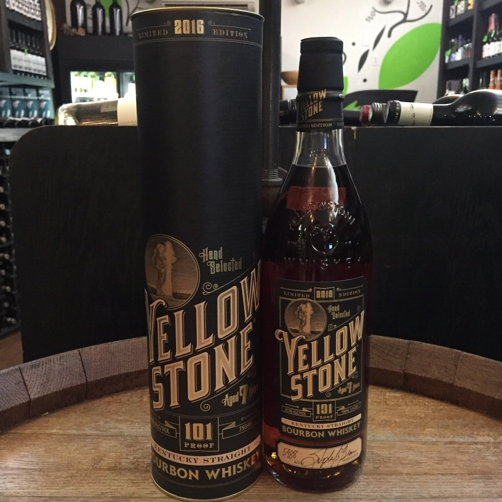 Yellowstone 101 Aged 7 Years Limited Edition Kentucky Straight Bourbon Whiskey - De Wine Spot | Curated Whiskey, Small-Batch Wines and Sakes