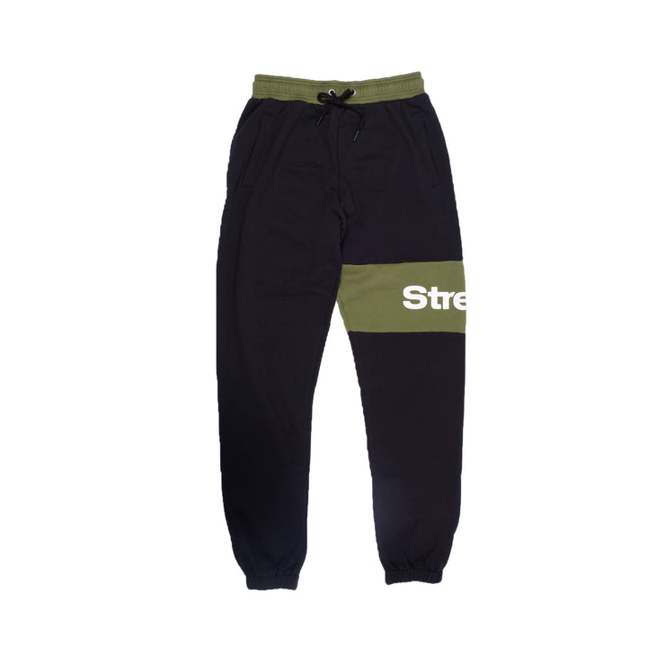 PANEL WORDMARK SWEAT PANTS