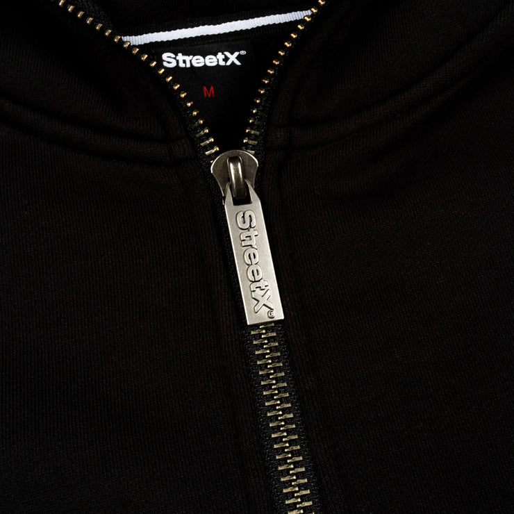 Pill Logo Full Zip Hooded Fleece
