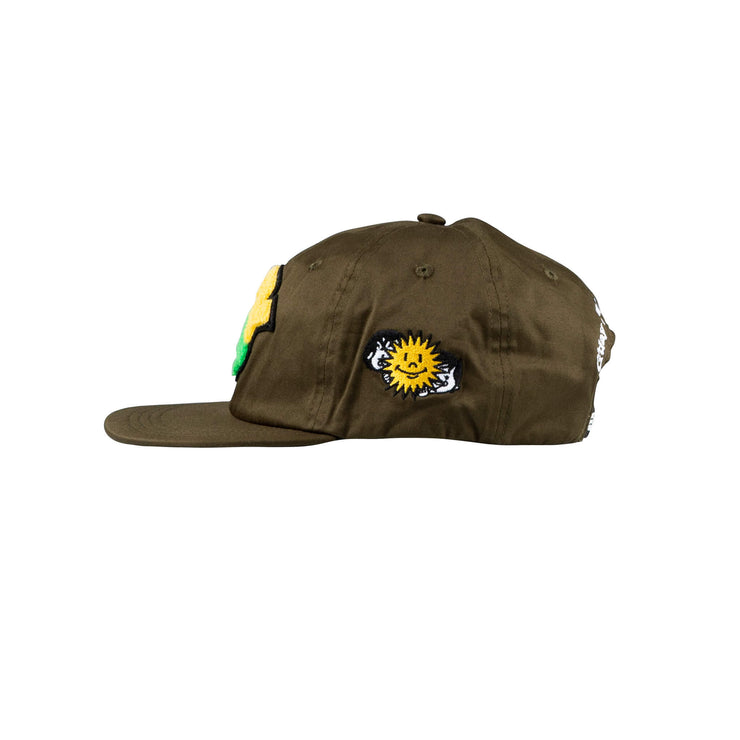 holiday patch cap