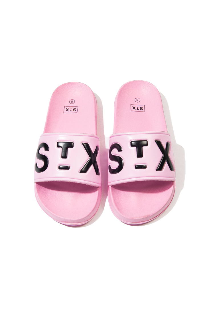 Big STX slides pink