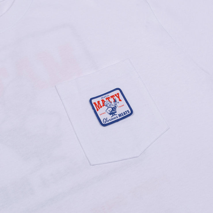 rvca x matty pocket tee