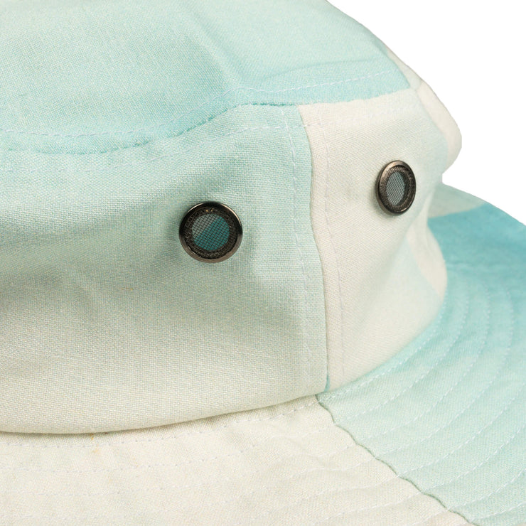 Mint Gradient Linen Hat