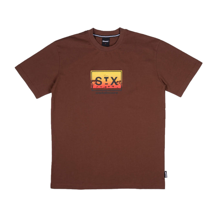 outdoors box logo tee