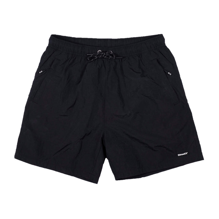 Nylon Pill badge Shorts