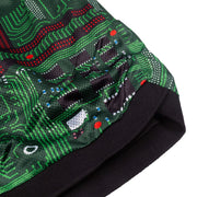 pleasures motherboard mesh shorts
