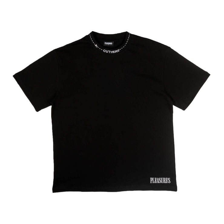 Pleasures Cut here heavyweight tee
