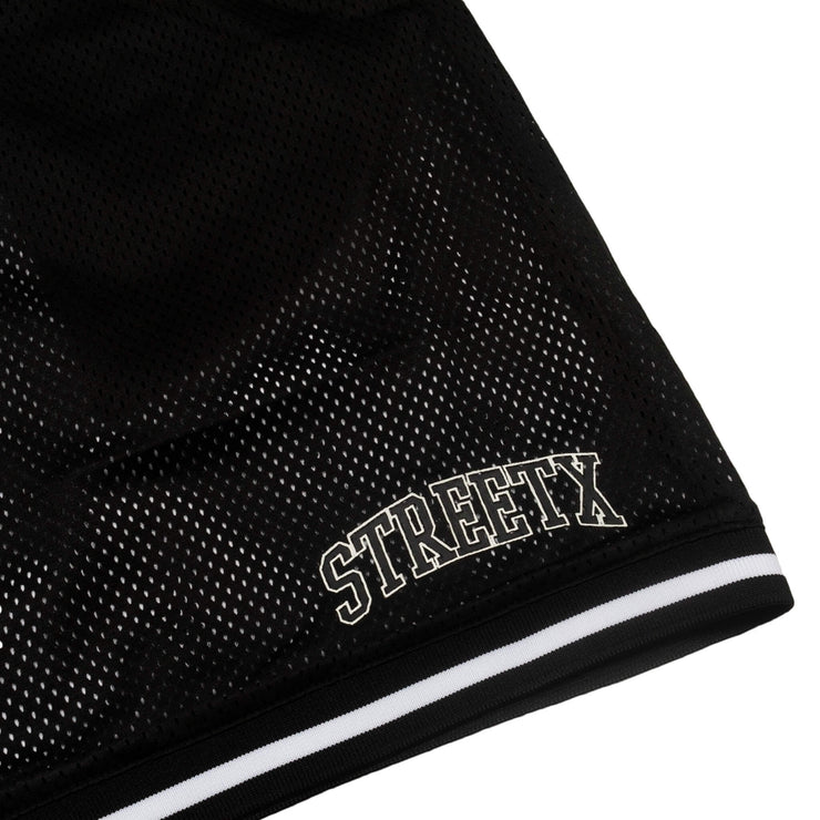 reversible college mesh short