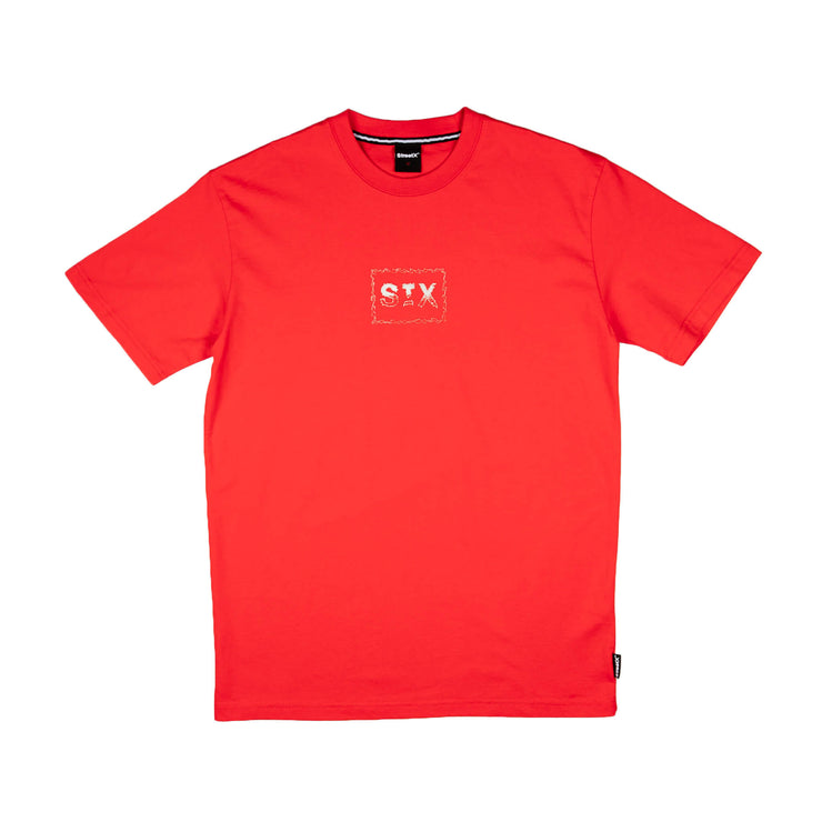 Spiky Box Logo Tee