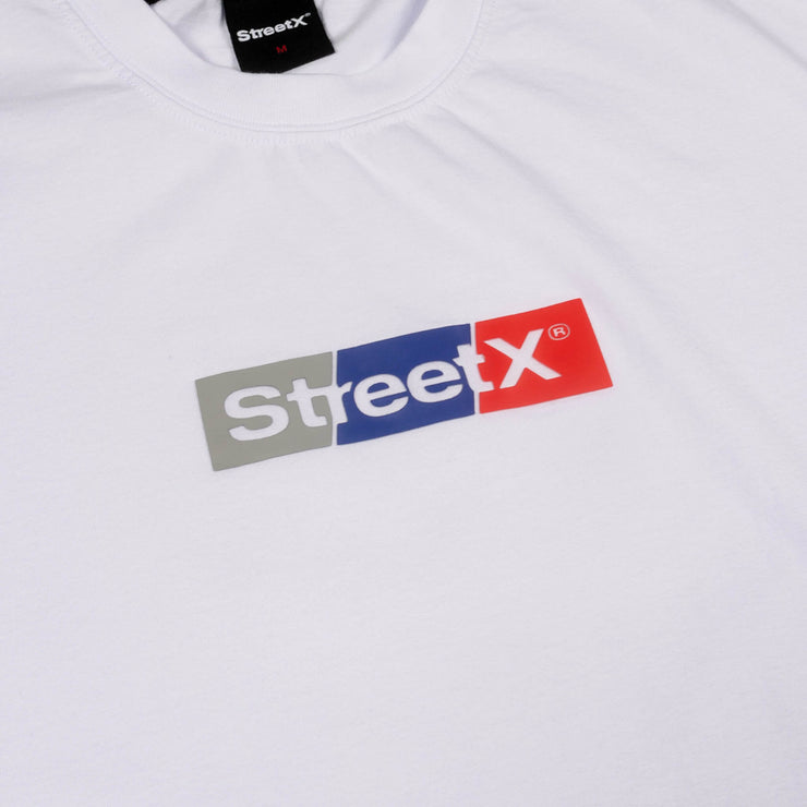 Tri Colour Wordmark 2.0 Tee