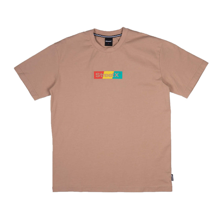 Tri Colour Wordmark Tee