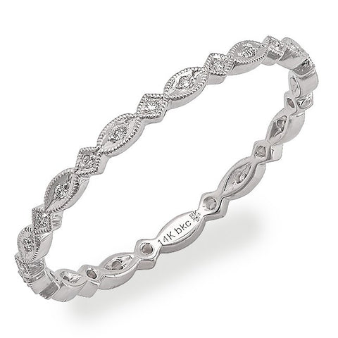 Beverley K Stackable Diamond Band