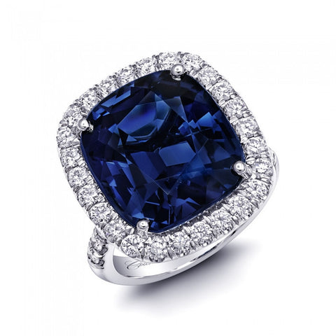 Coast Diamond Blue Spinel Ring
