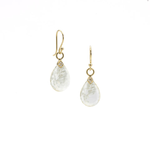 Elizabeth Showers Mother of Pearl Earrings