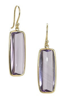Elizabeth Showers Amethyst Earrings