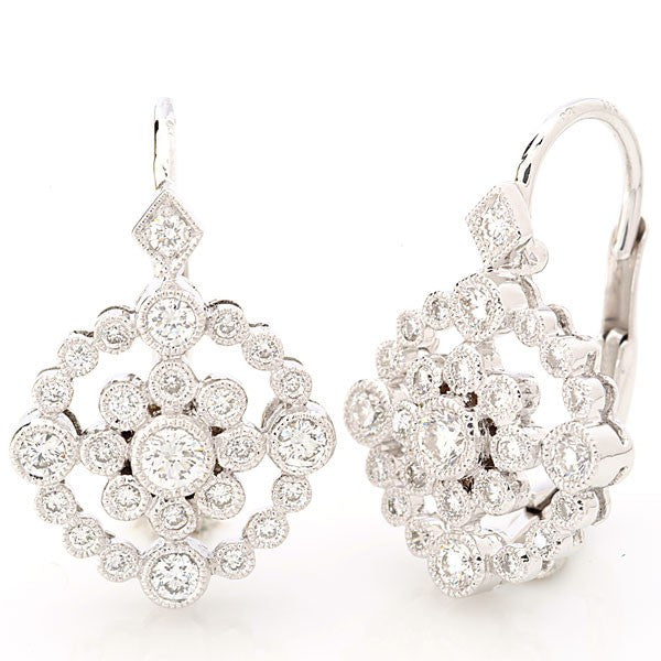 Beverley K Floral Earrings