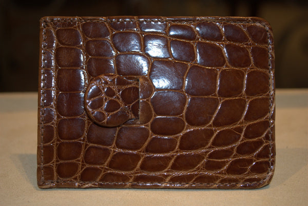 Crocodile Credit Card Holder