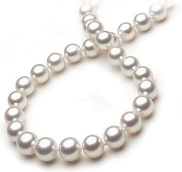South Sea Pearl Necklace With Pave Diamond Clasp