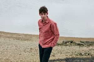 Moleskin Oxford - Dusty Pink
