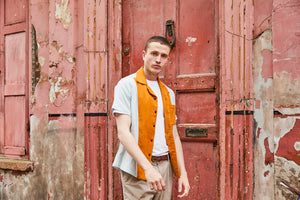 Cuban Short Sleeved Shirt - Linen Chandler