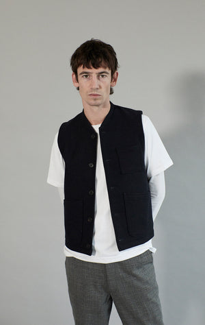 Made to order | Wool Chore Waistcoat