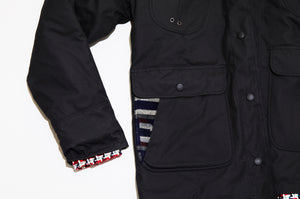 Waxed Signature Jacket - Black