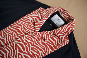 Cuban Short Sleeved Shirt - Tiger Panel