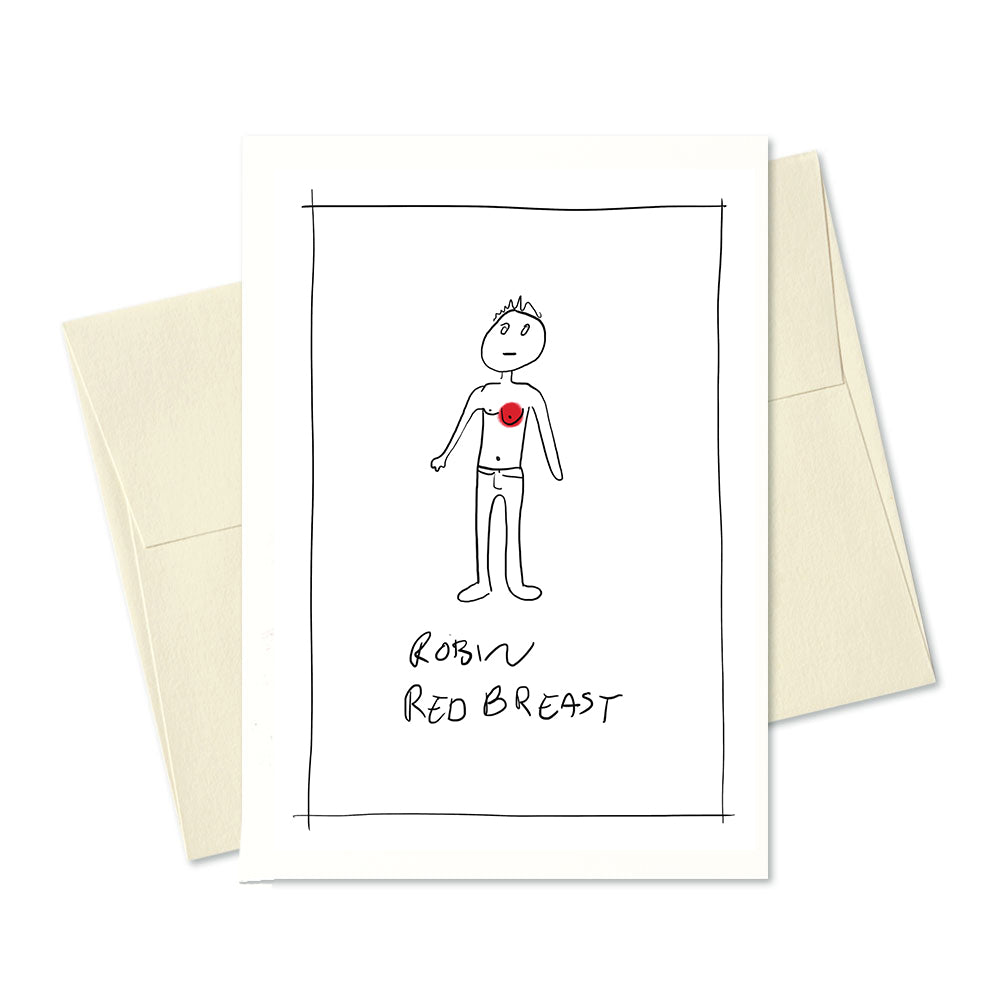 Robin Red Breast Card
