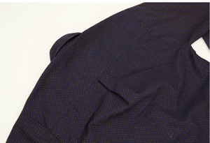 Japanese Dobby Overshirt - Navy