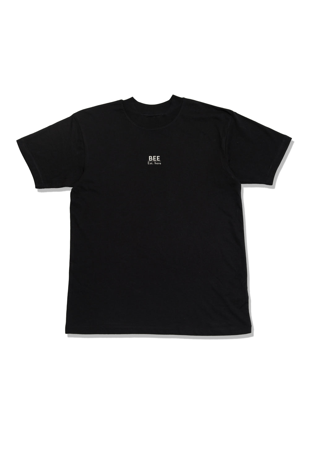 BEE Short Sleeve T-shirt -  Black