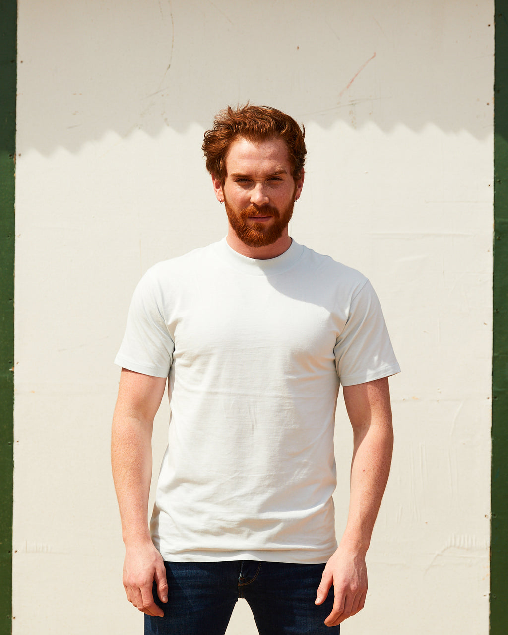 Basics T-shirt- Sky Blue
