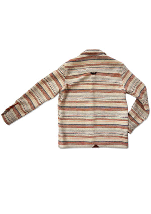 Woven Wool Shirt | Blanket Stripe