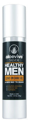 Aloevive®SILVER Healthy Men Leave-on Shave Gel