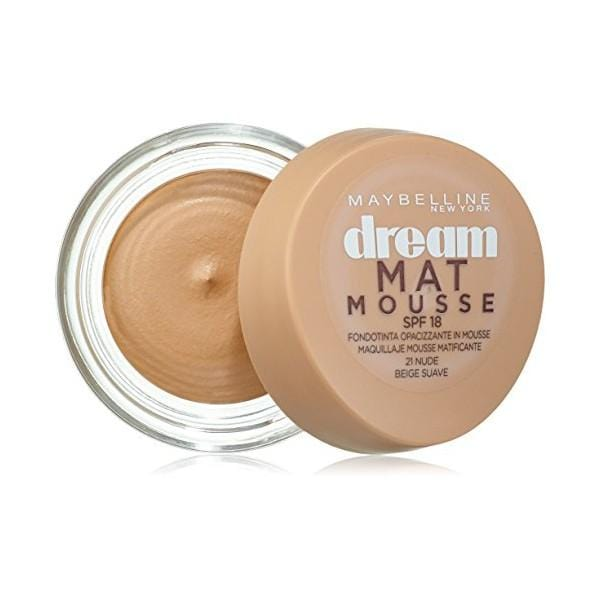Base per il Trucco in Mousse Dream Matt Maybelline (18 ml)