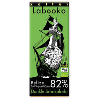 "Labooko Belize ""Sail Shipped Cacao"" 82%"