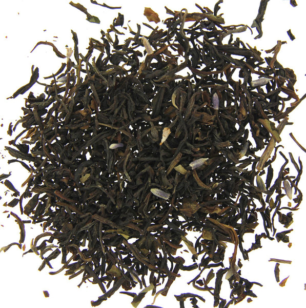 Afternoon blend - black tea with a hint of lavender