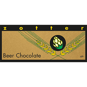 Hand-scooped Beer Chocolate
