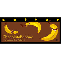 "Hand-scooped Chocolate Banana ""Chocolate for School"""