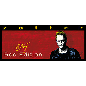 Hand-scooped Sting Red Edition