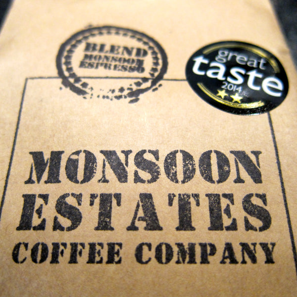 Monsoon Coffee - Beans 227 g or Ground Fliter/Cafetiere (various)