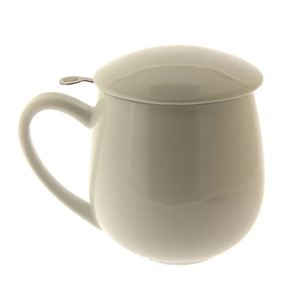 White Mug with Infuser