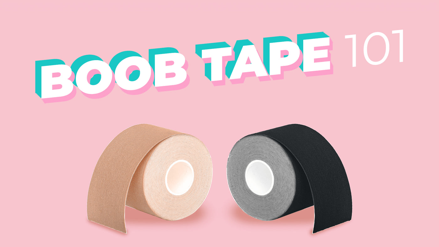 how to duct tape boobs