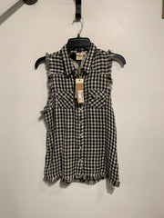 White Crow Blk/White Gingham