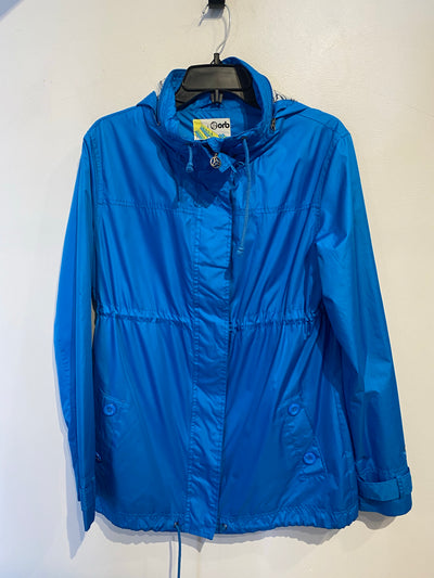 Orb Blue Rain Jacket