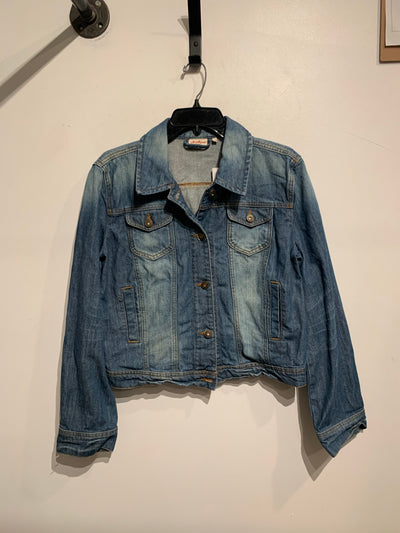 Jackpot 2 Tone Denim Jacket