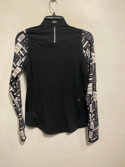 Sugio Blk/White Graphic Sleeve